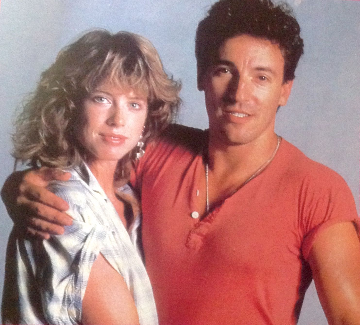 Bruce Springsteen and Julianne Phillips