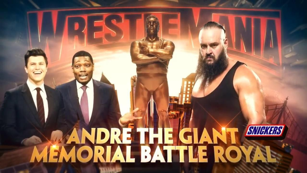 Andre The Giant Memorial Battle Royal Suplex City Andre The