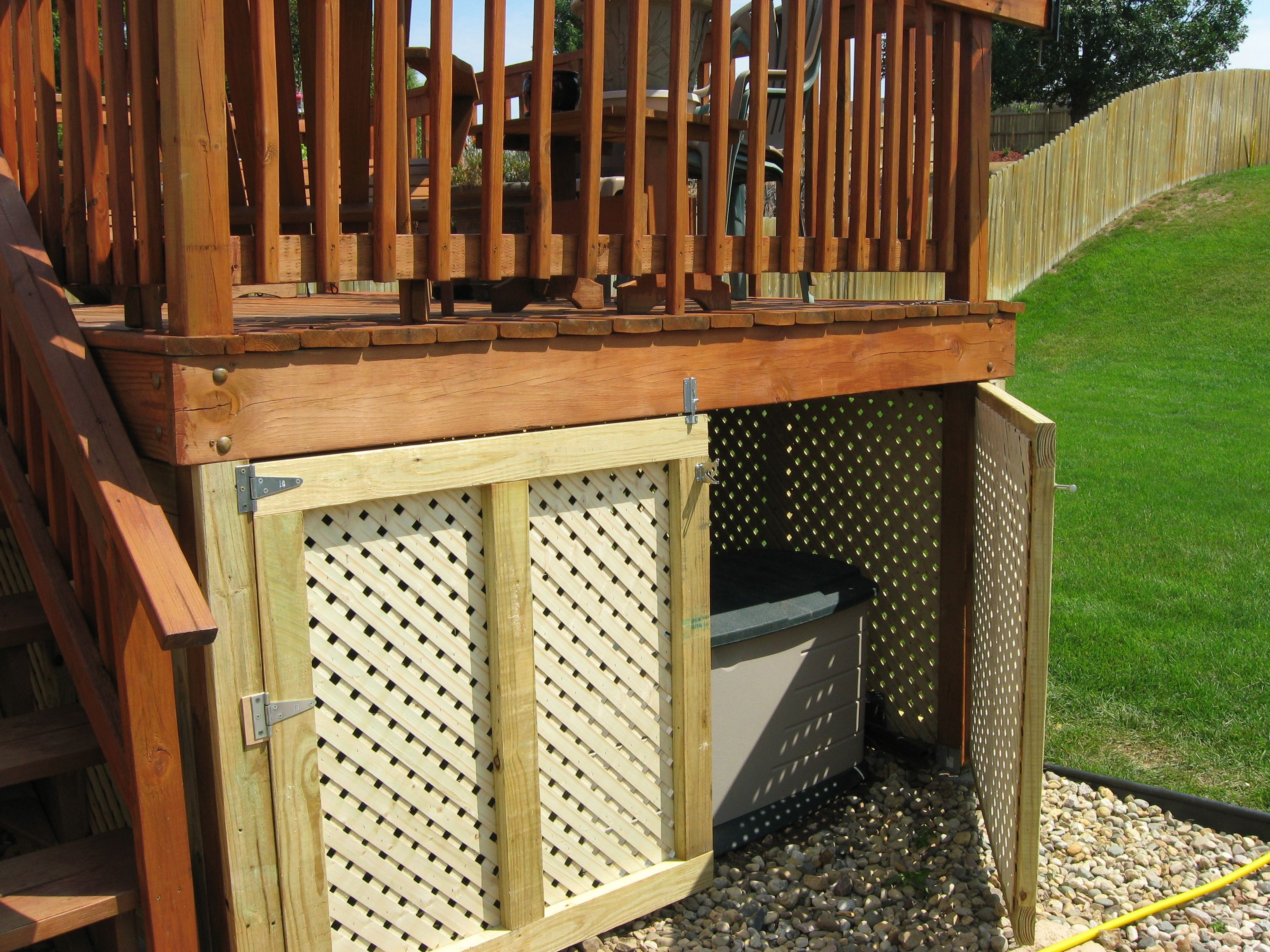 How To Build A Shed Under Deck Pdf Diy Shed Heating