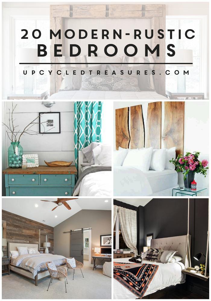 Best 20 Inspiring Modern Rustic Bedroom Retreats Modern 400 x 300