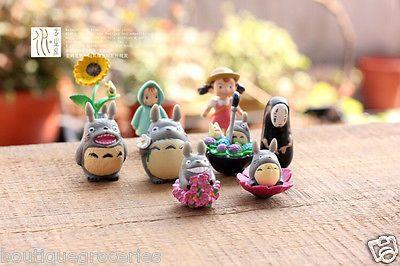9pcs/Set Miyazaki Hayao Cartoon My Neighbor Totoro Figure 2015 New