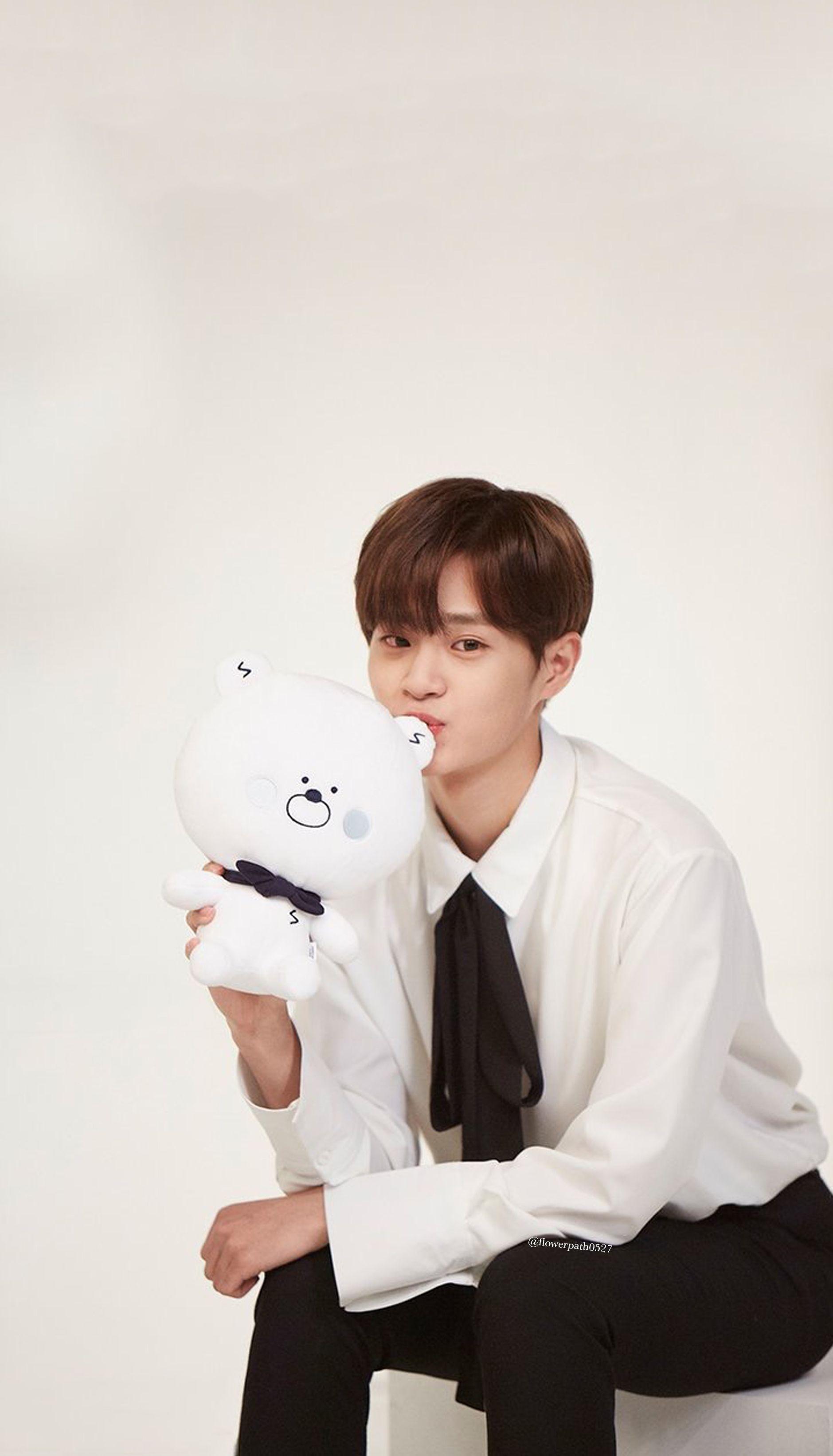 Wanna One Lee Daehwi X Shinan Bank Wallpaper Lee Daehwi Lee Jinyoung