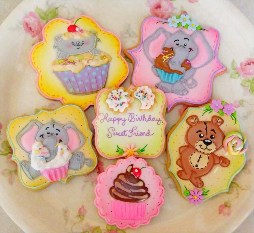 Sweet Birthday Cookies | Cookie Connection