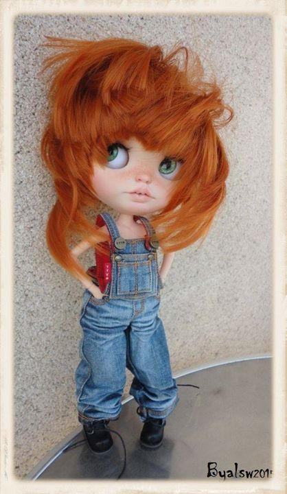 Custom Blythe & Icy Art Doll By Alsw | Pagelous