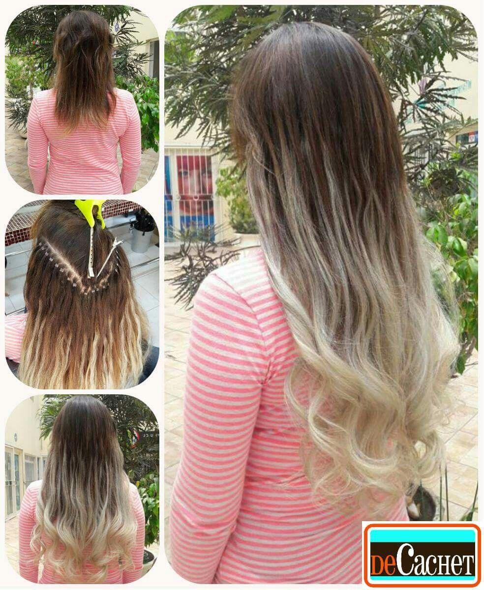 Extensiones de cabello natural extensiones de cabello for Extensiones antes y despues