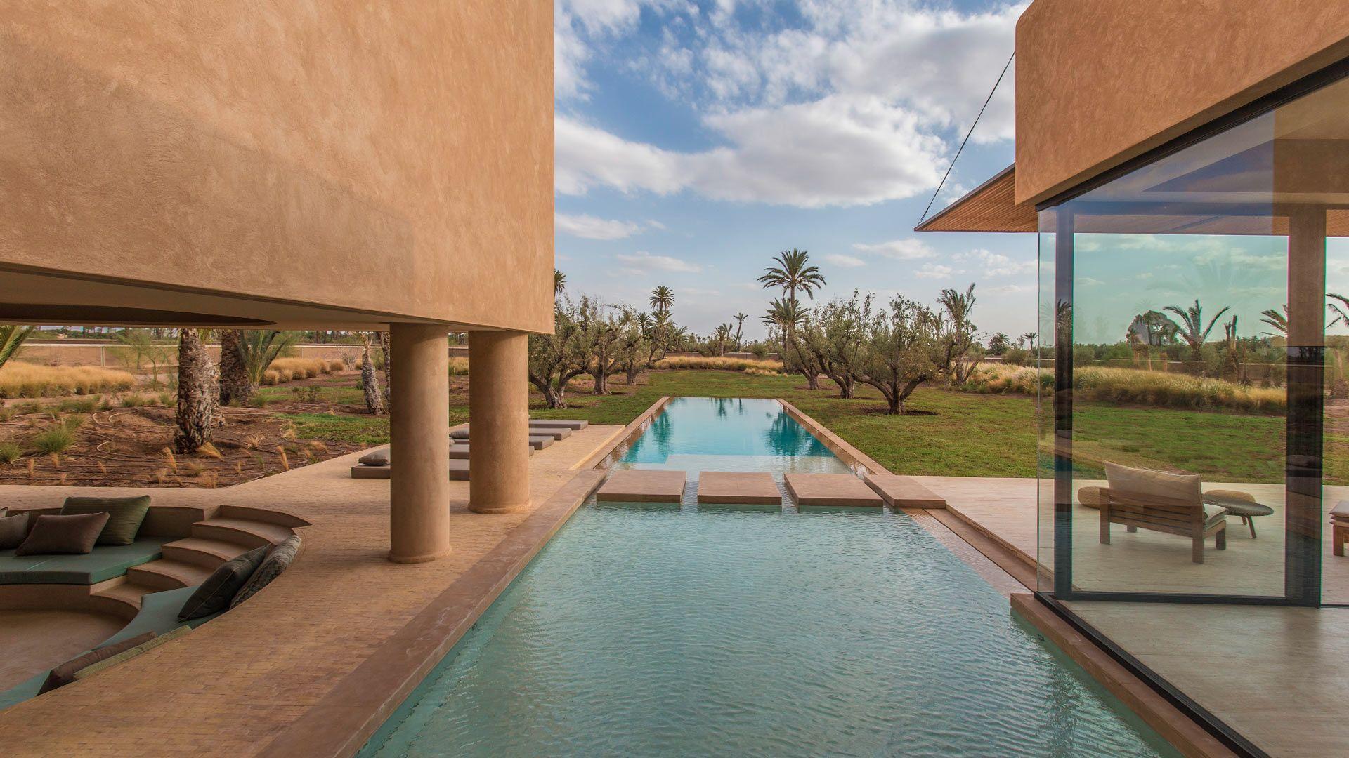 Villa Dar Na In Marrakech   Swimming Pool