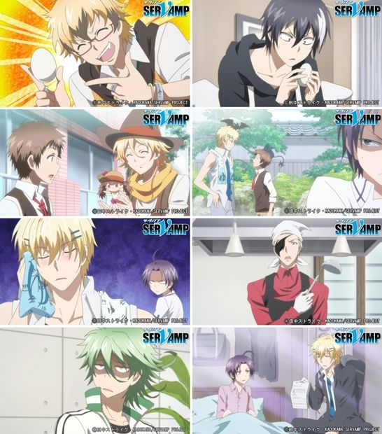 "Servant-vampire: ""Servamp OVA DVD & BD Vol. 4 Source"