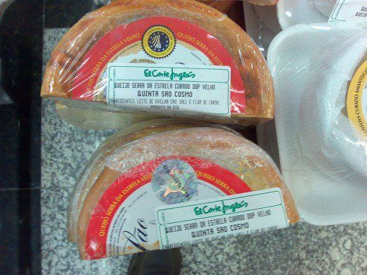 Cured Serra da Estrela cheese