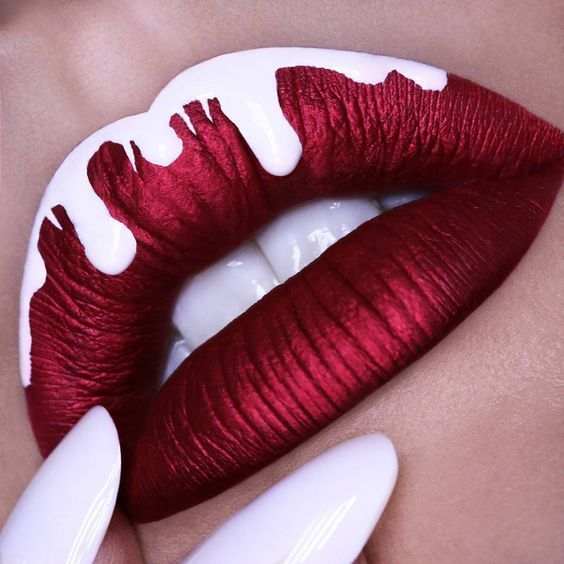 Different colors Lip Top Coats for 196 Make Up that nourishes your lipstick … …