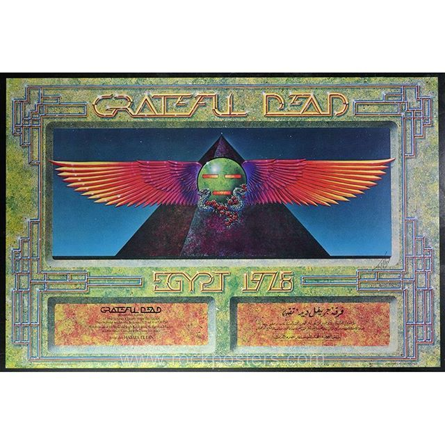Now LIVE in our September Auctions: Grateful Dead Egypt 1978
