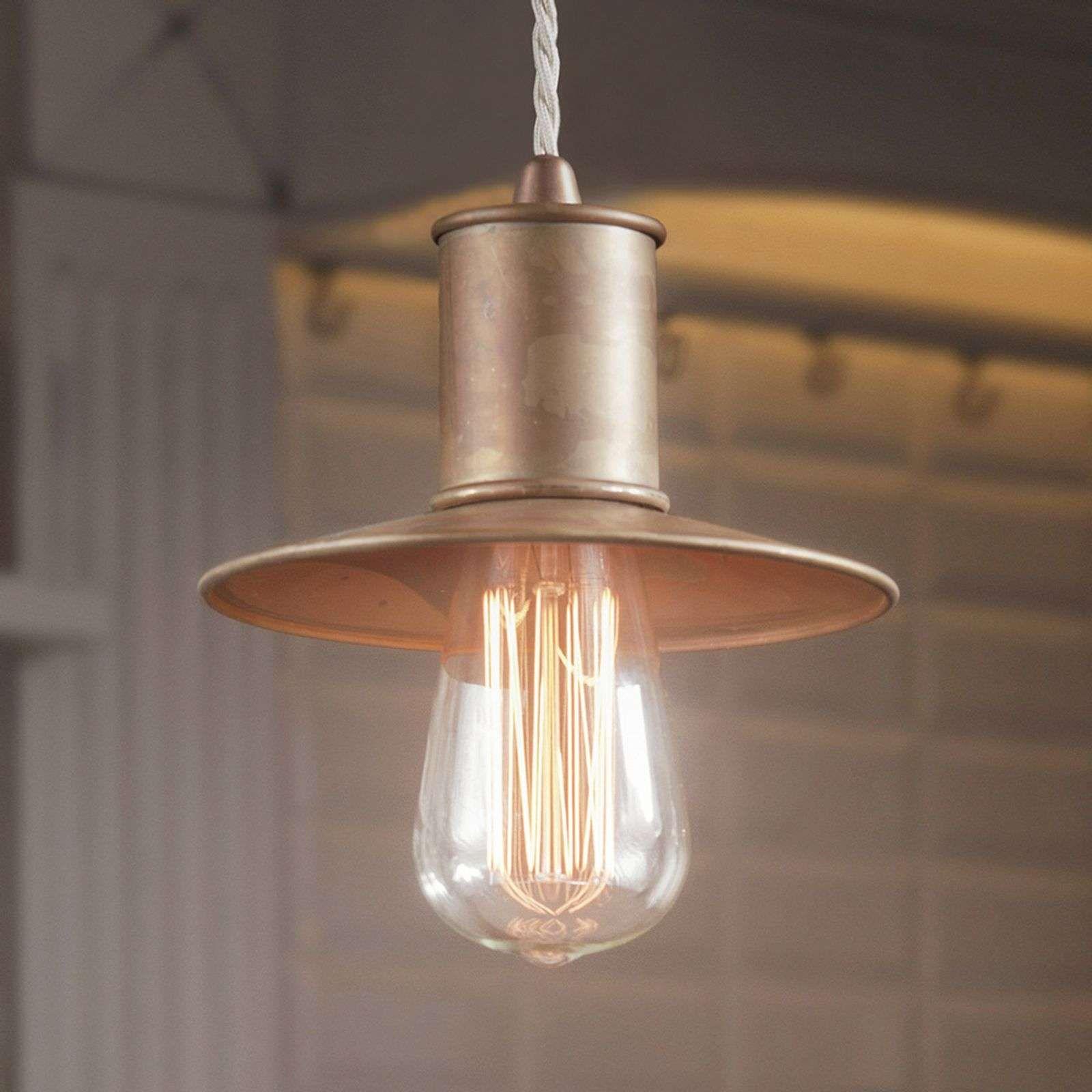 Rustikale Hangeleuchte Nio Aus Metall Hangeleuchte Lampenlicht Licht