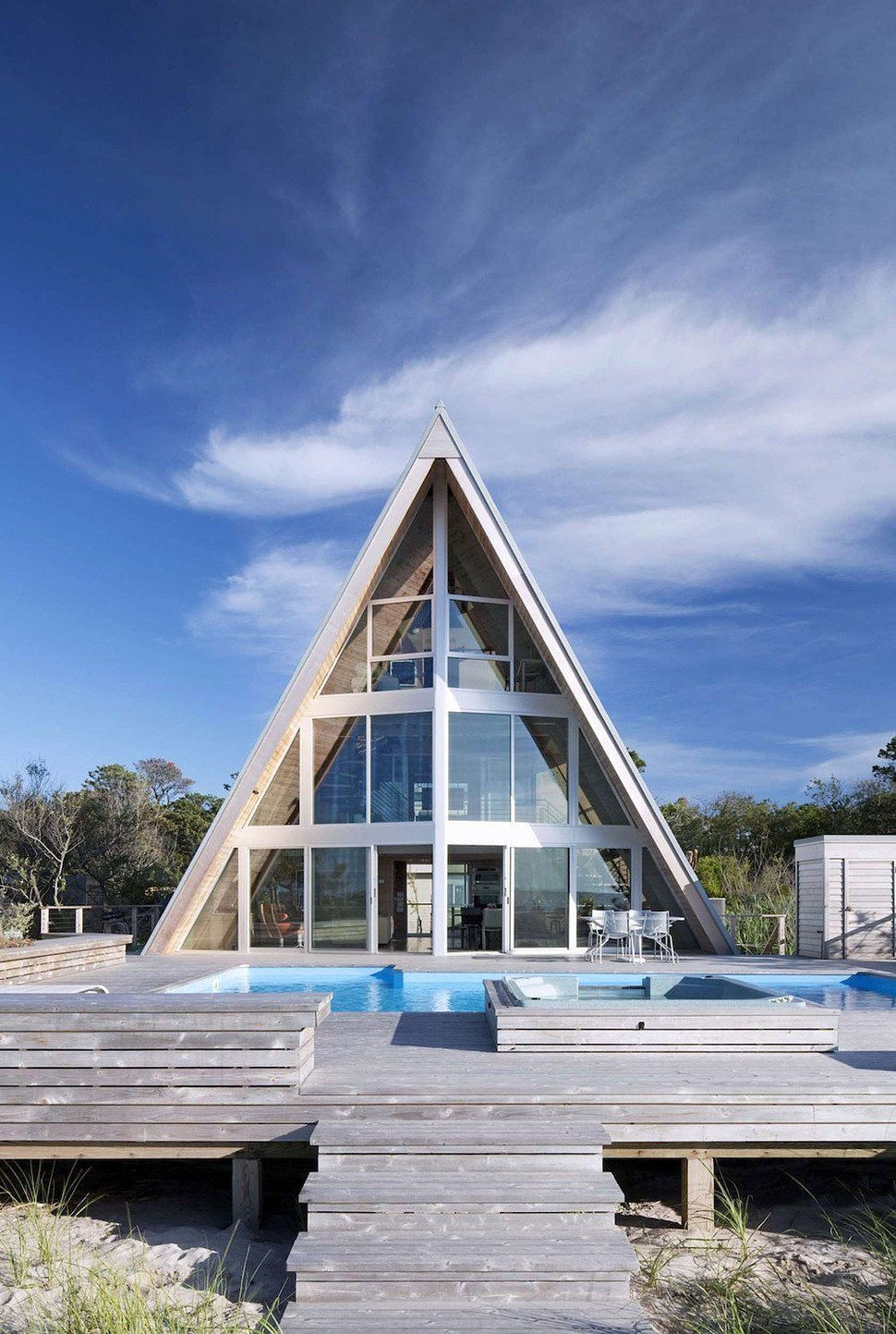 Steel And Gl House