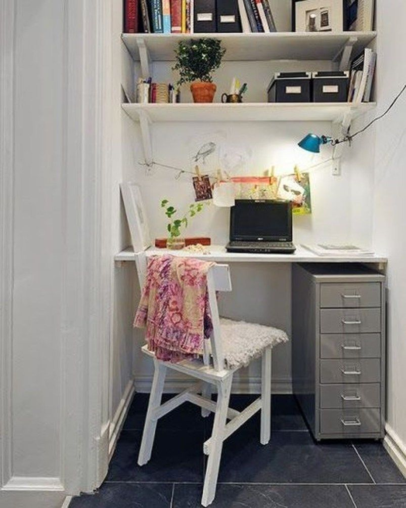 49 Beautiful Small Work Office Decorating Ideas Small Home