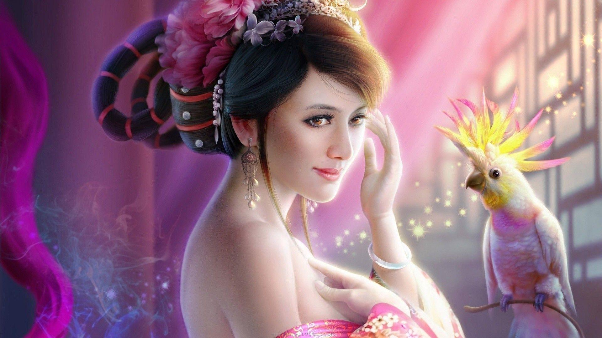 Fantasy Girl Hd Wallpapers Fantasy Princess Fantasy Girl Art Girl