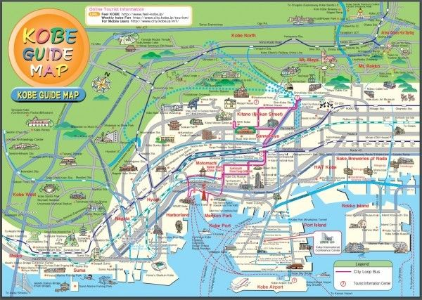 Visiting Kobe Japan Kobe japan City maps and Kobe