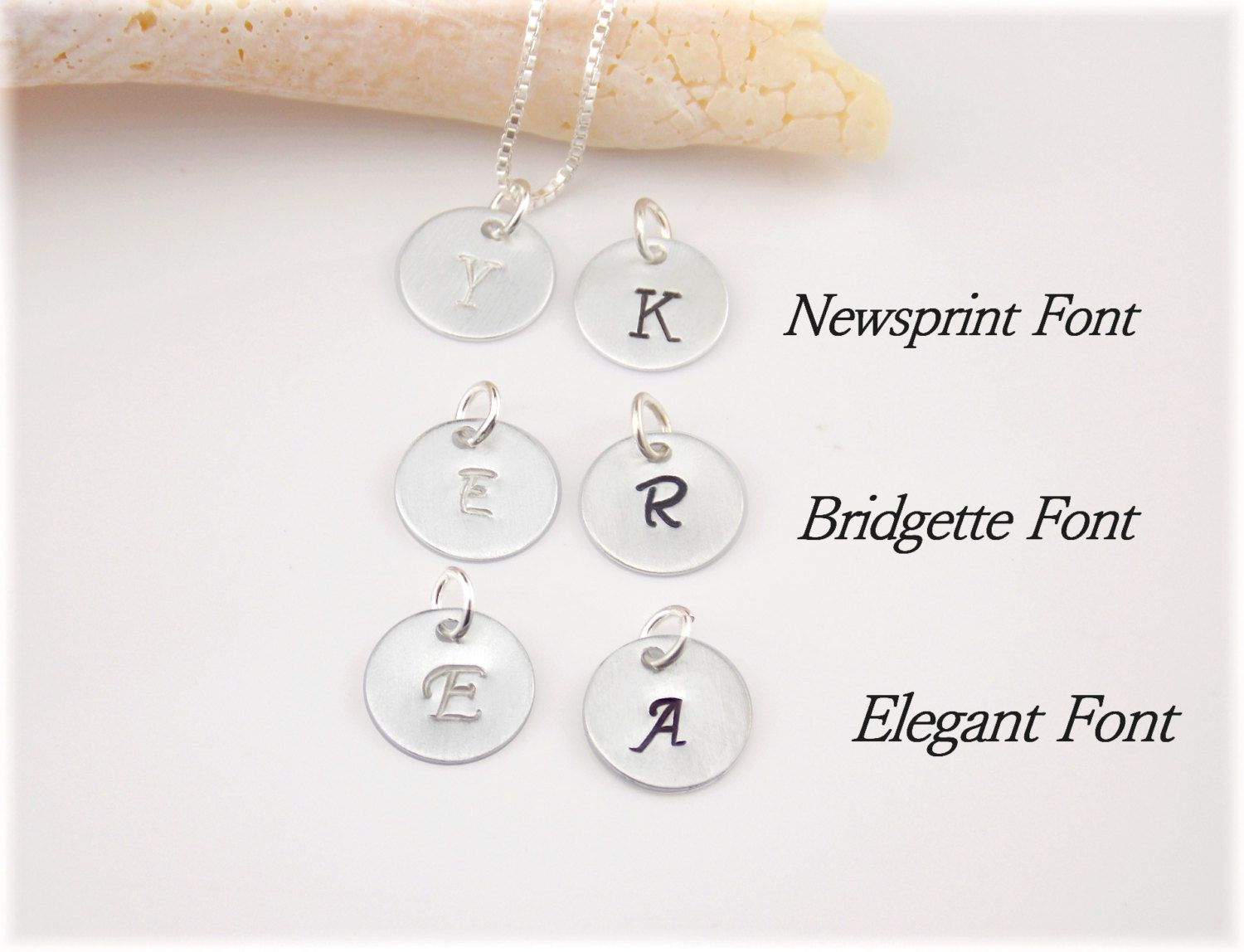 Add On Charms Add An Initial Charm Add A Letter Charm Additional 925