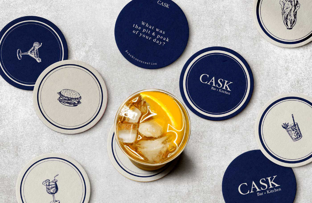 Cask Bar Nyc On Behance In 2021 Nyc Bars Cask Bar
