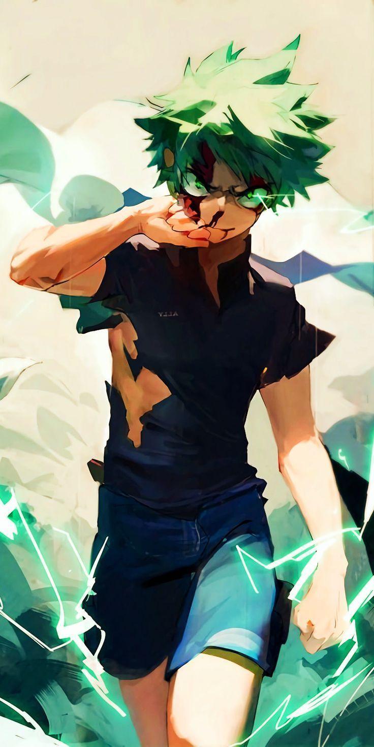 Photo of Izuku Midoriya – My Hero Academia #fanart #manga #anime #animeboy #GG  ^^ /,  #a…