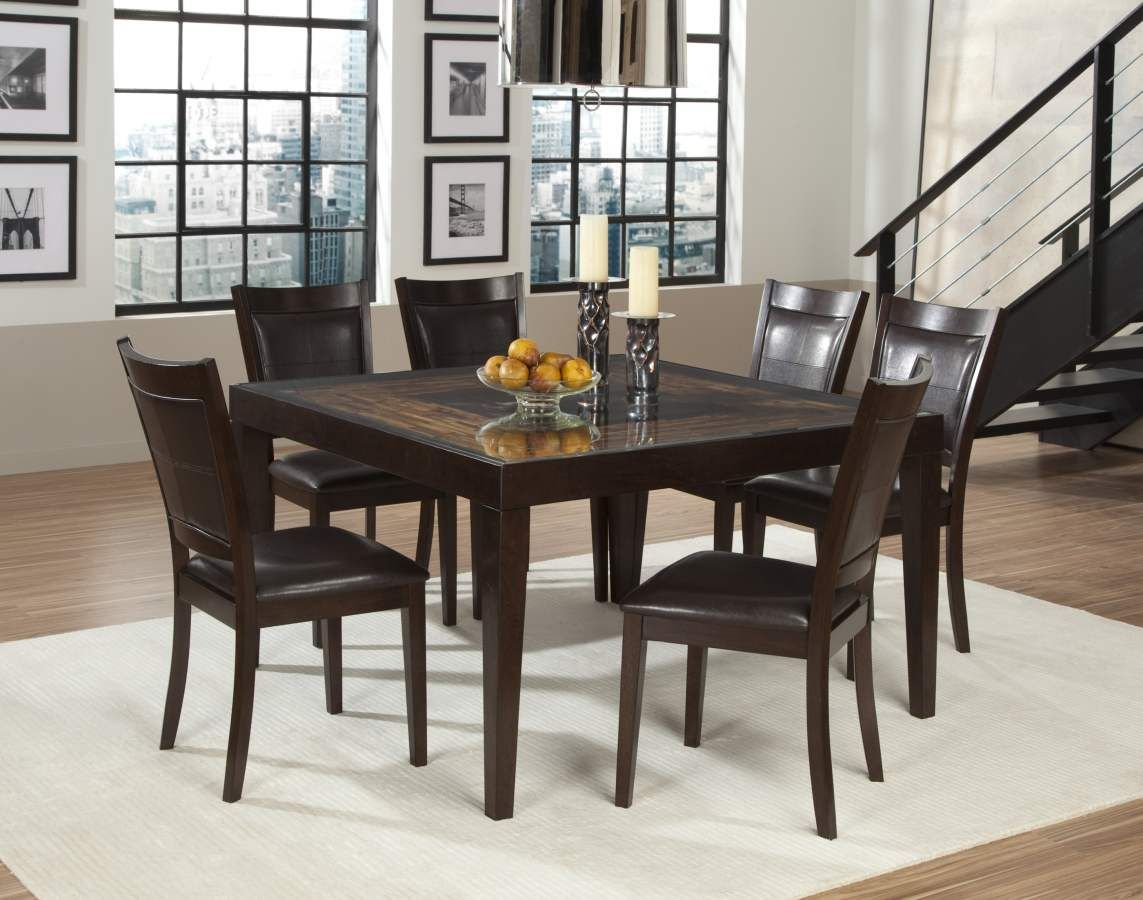 Vincent Chocolate Dark Brown Dining Table