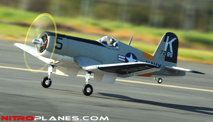 AirField RC F4U Corsair 1430MM Warbird Plane *Super Scale* EPO Foam