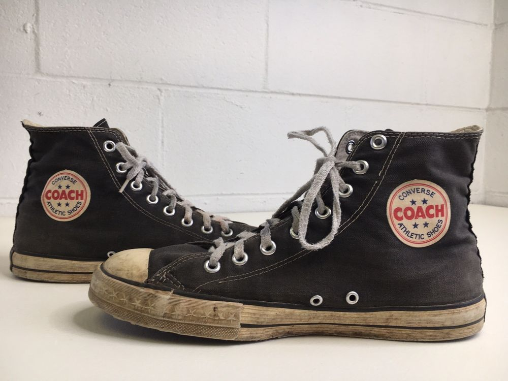 Converse Black Label Shoes 60s 70s
