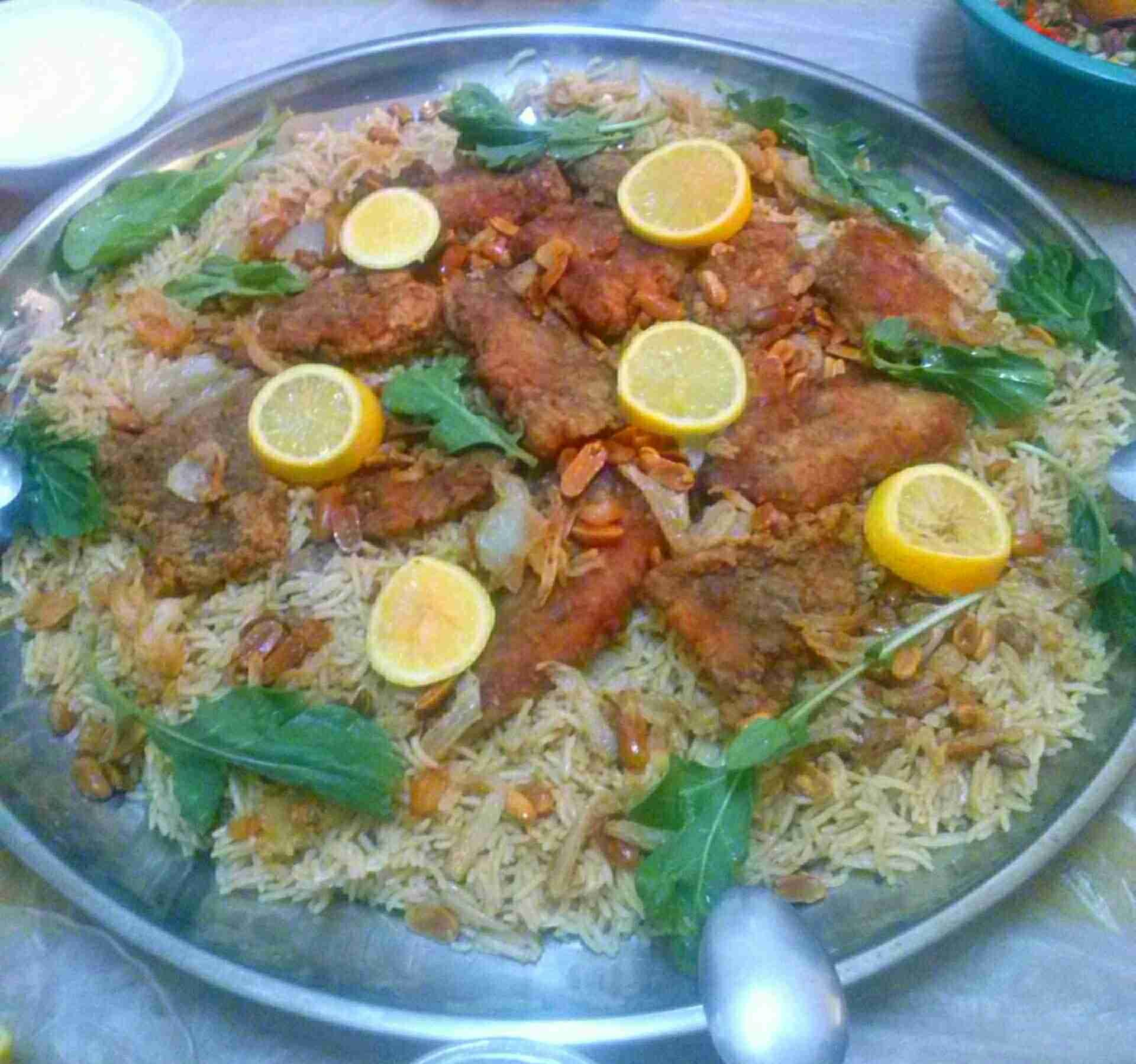 طريقة صيادية السمك أو مقلوبة السمك زاكي Libyan Food Arabic Food Main Dishes