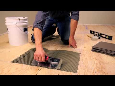 Rona How To Lay Floor Tiles Youtube Home Skills Tiles