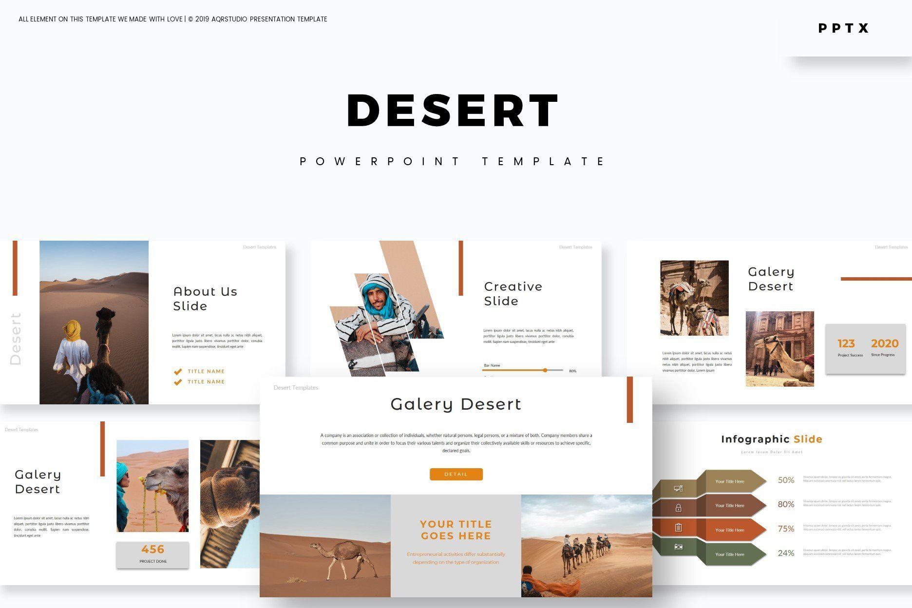 Desert Powerpoint Template By Aqr Studio On Creativemarket Powerpoint Powerpointtemp In 2020 Powerpoint Template Free Powerpoint Templates Powerpoint Presentation