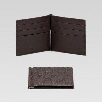 71437566f53be Gucci 170580 A0v1r 2019 Money Clip Wallet Gucci Herren Portemonnaie ...