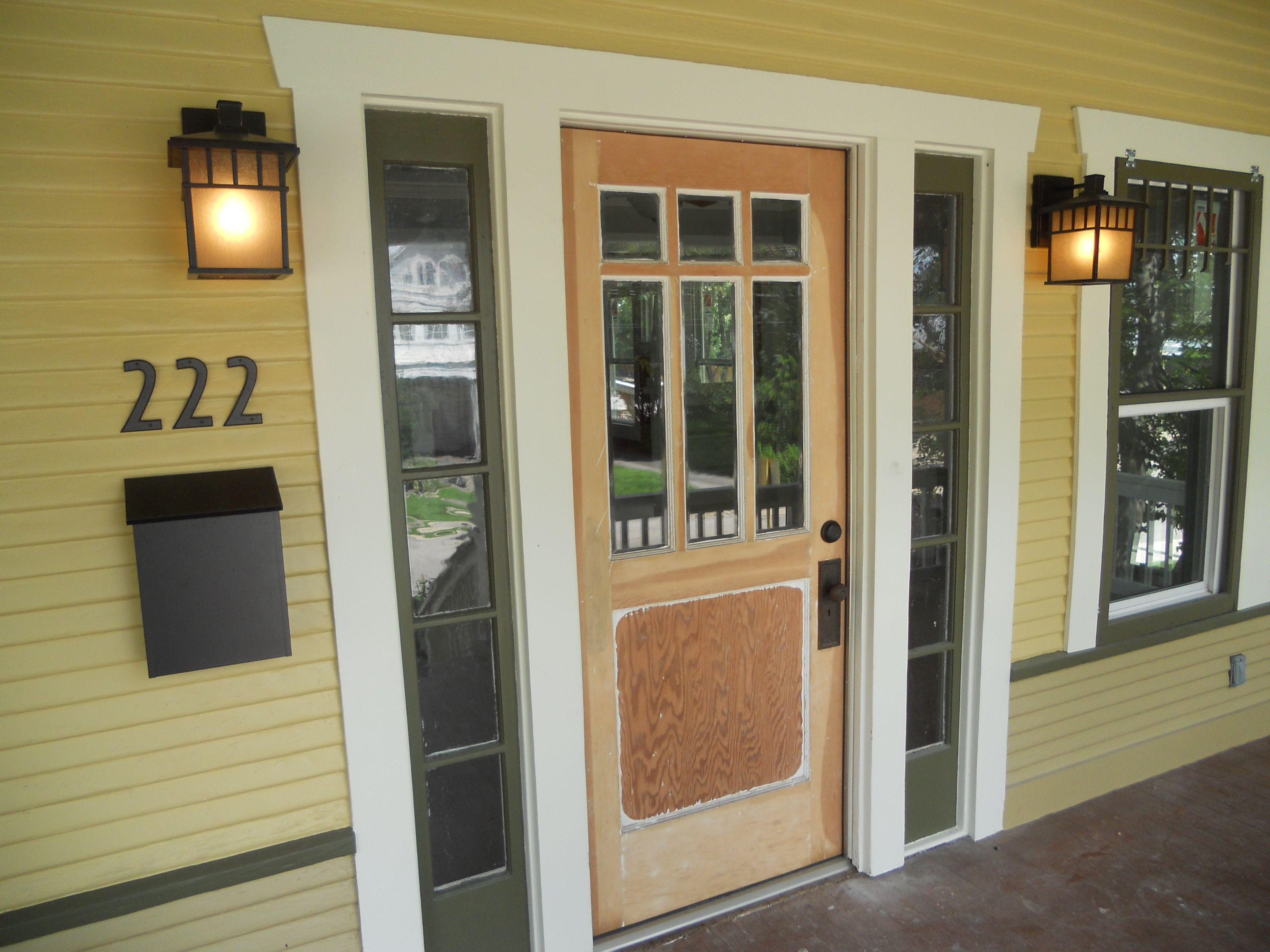 Craftsman Style Front Doors - Interior Design Ideas Newhdd