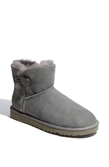 ugg mini bailey bow grise