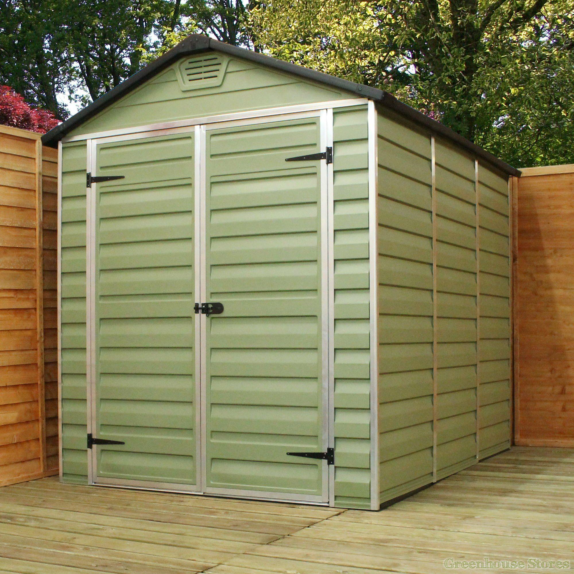 palram 6 x 8 plastic skylight shed