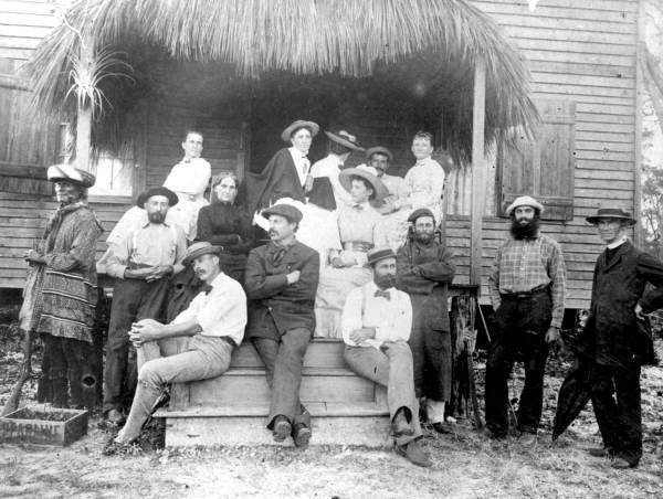 Some residents of Coconut Grove, Florida (1887)