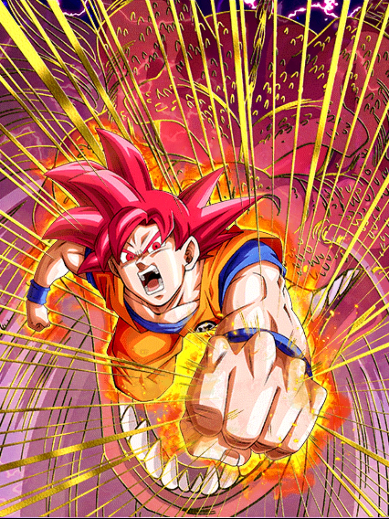Dragon Ball Z Dokkan Battle 孫悟空 超サイヤ人ゴッド Anime Dragon Ball Super Anime Dragon Ball Dragon Ball Artwork
