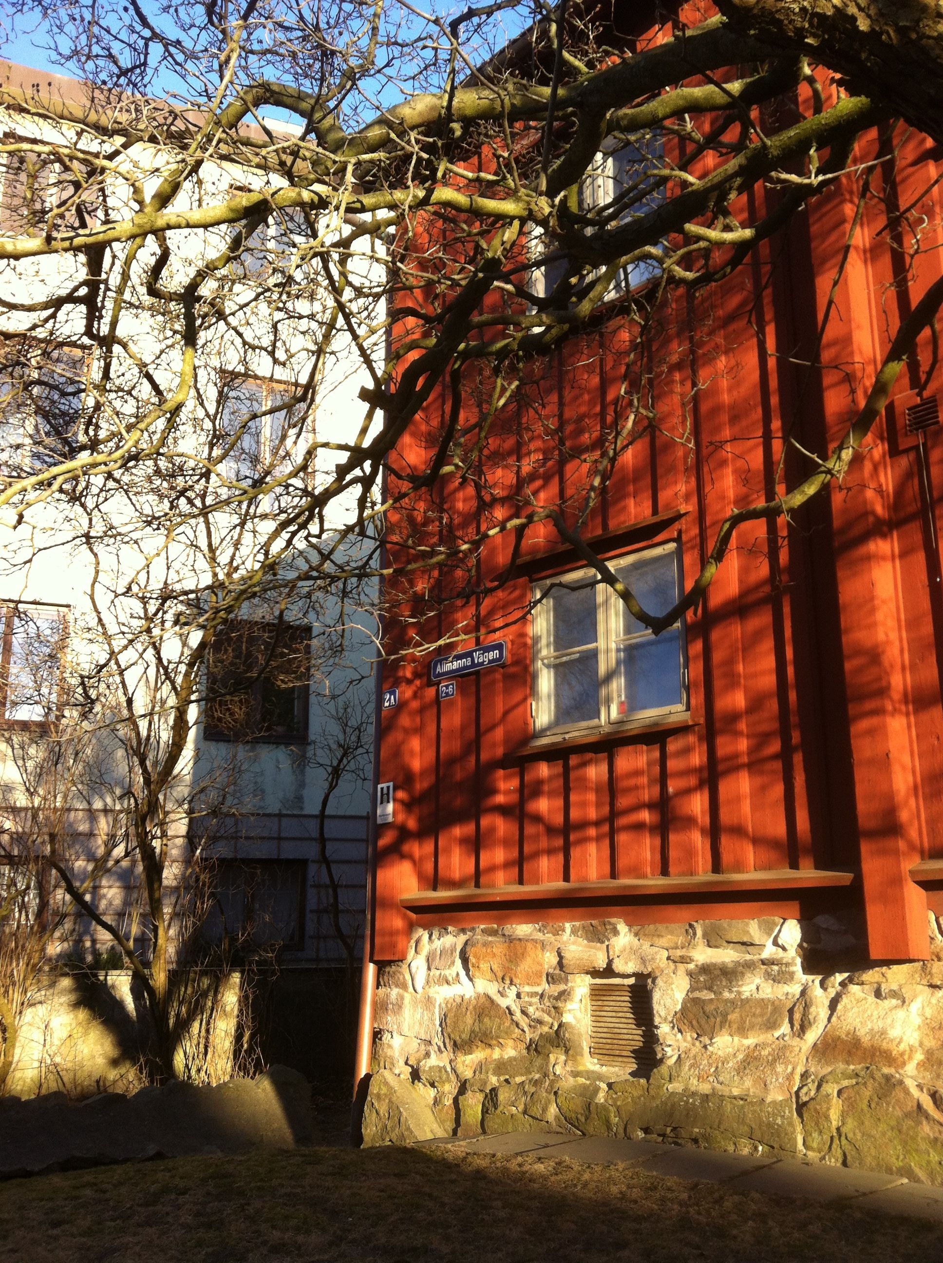 By Stigberg square in Gothenburg