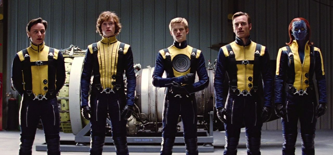 Here we are, don't turn away now. We are the warriors that built this town from dust. #xmen #firstclass