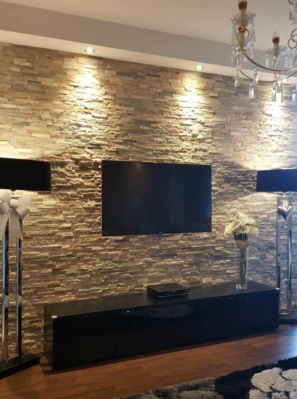 Tv Wand Haus Innenarchitektur Wohnzimmer Ideen Wohnung Wohnzimmerdesign