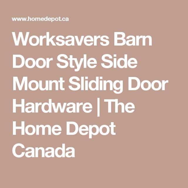 worksavers barn door style side mount sliding door hardware the