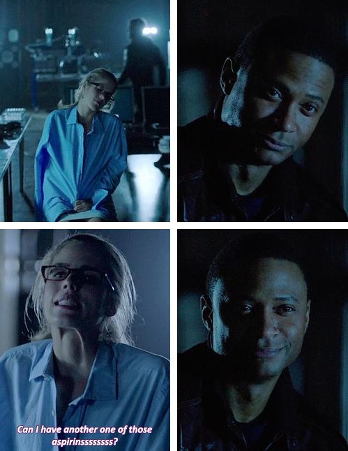 Arrow - Felicity and Diggle #2.14 #Season2