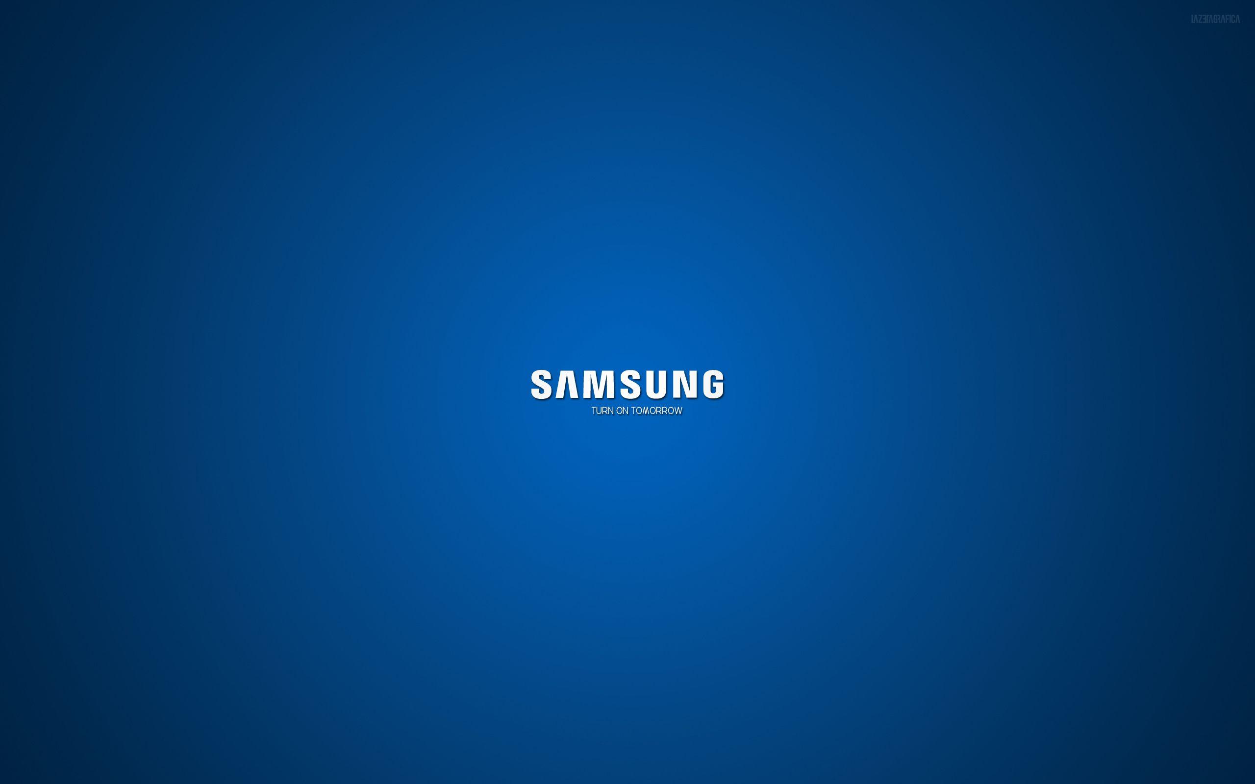 Samsung Logo 2560 1600 Samsung Logo Samsung Laptop Samsung Galaxy Wallpaper