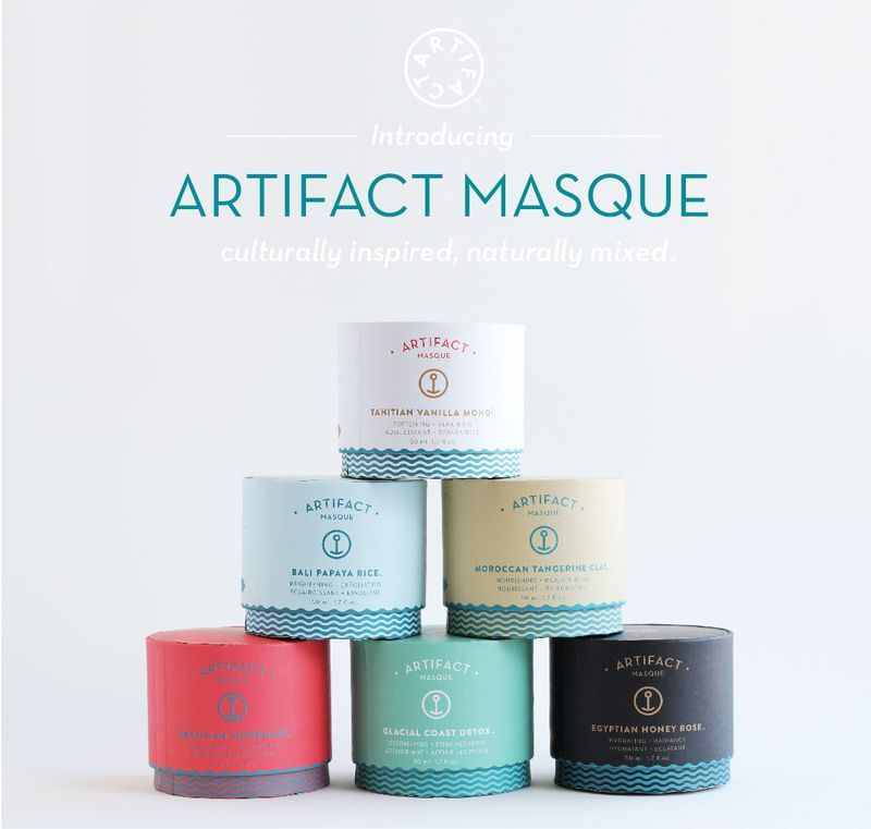 """Best face masks I have ever tried....and vegan. ARTIFACT MASQUE!"""