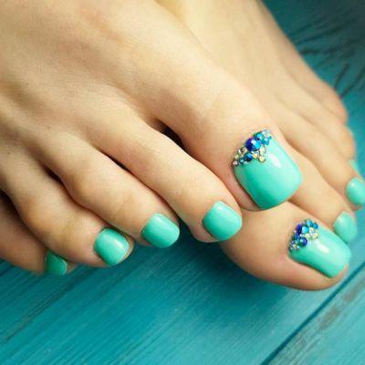 30 fun toe nail designs to go crazy  pedi toes in 2019