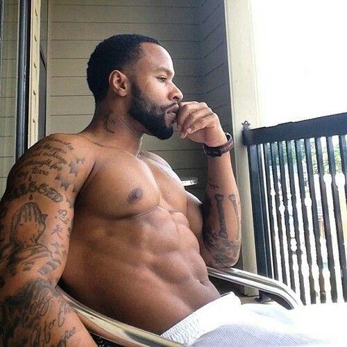 sehr sexy schwarze Männer