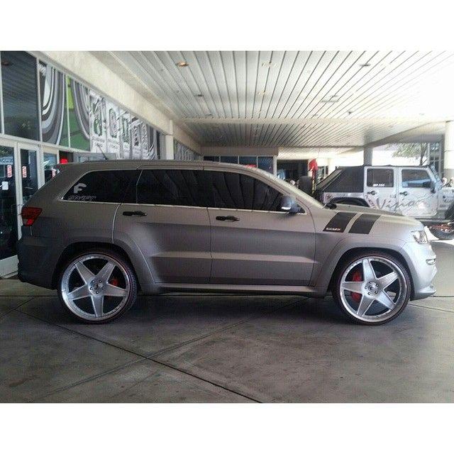 5 Star Jeep Dealers Colorado: Jeep Cherokee Forgiato Swift Car Club. Grey Matte Flat