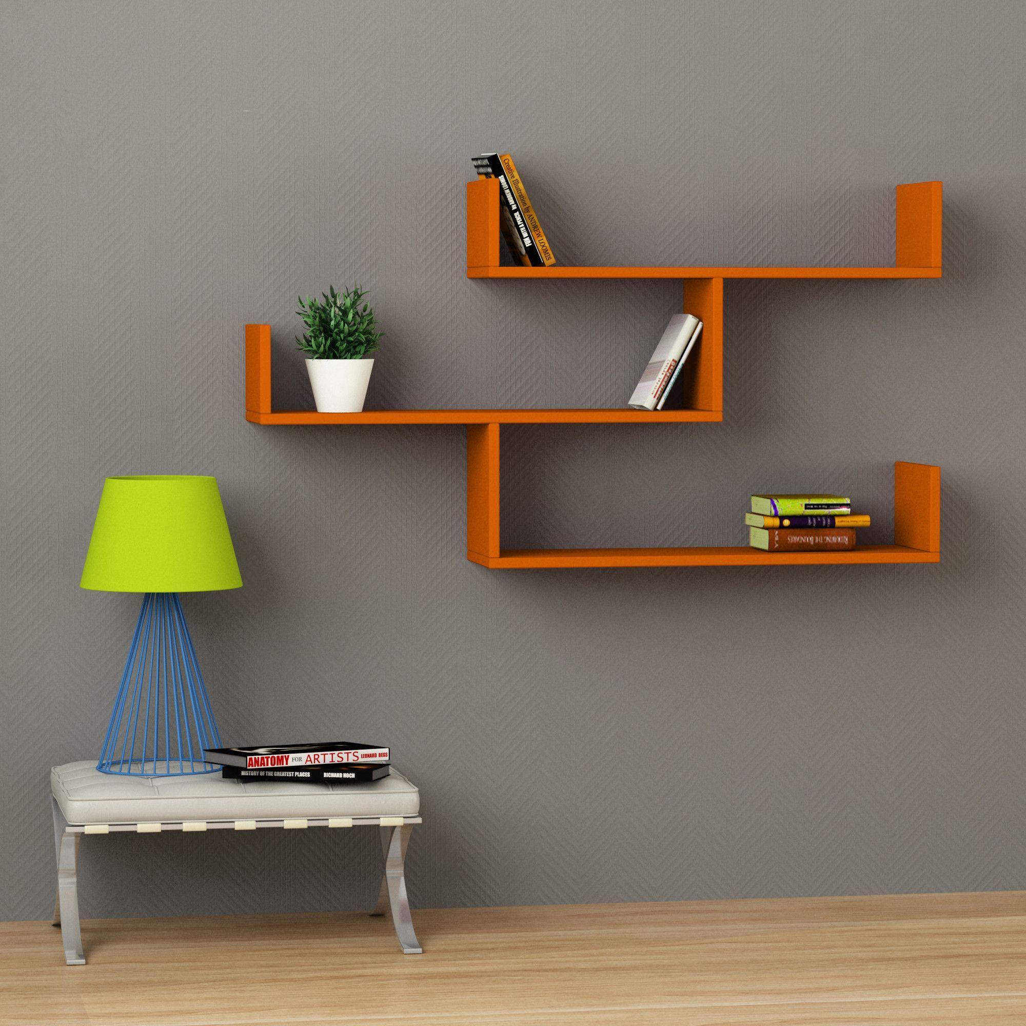 unique wall shelf ideas diy triangle shelf interior design pinterest shelf