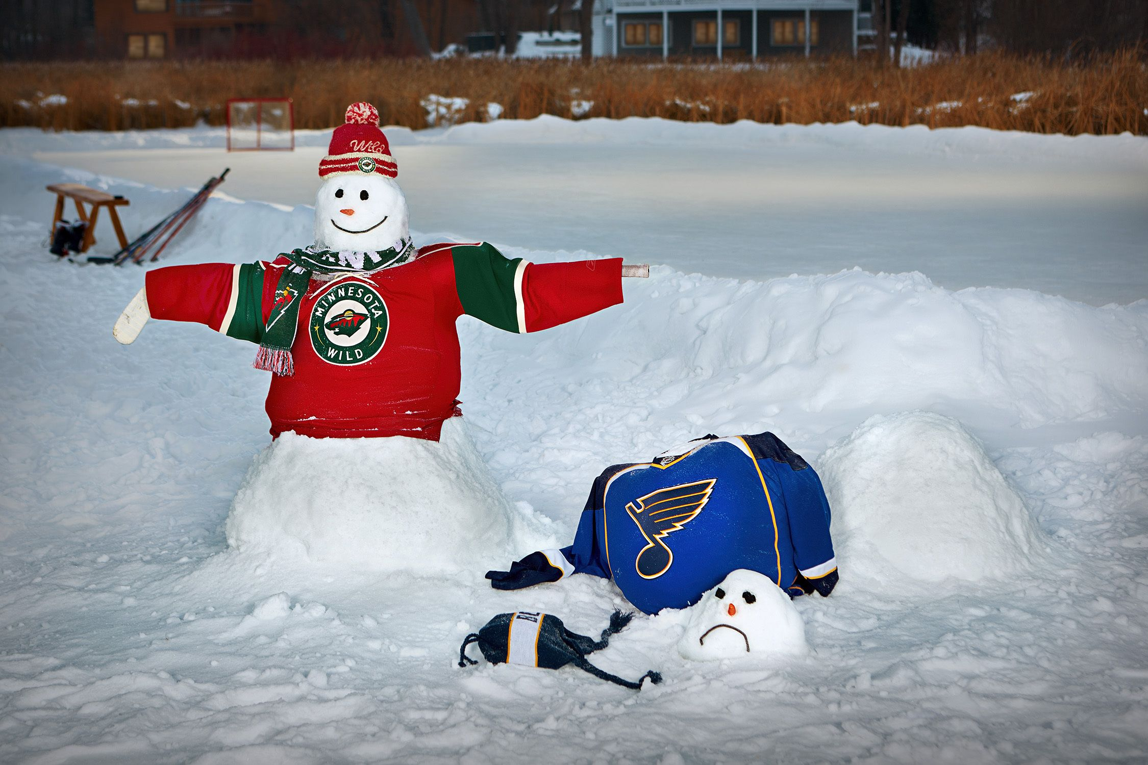 Minnesota Wild Wild Snowman Contest Minnesota Wild Snowman Wild Hockey