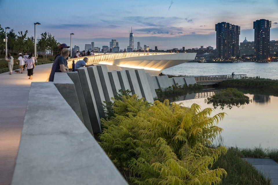 Hunter S Point South Waterfront Park Phase Ii By Swa Balsley Weiss Manfredi And Arup 谷德设计网 Landscape Design Park Landscape Architecture