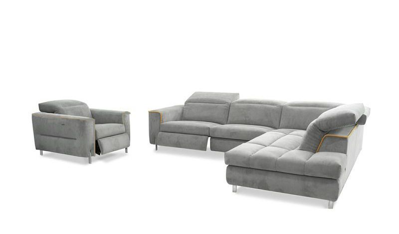Dumont Reclining Leather Sectional Modern Design Sofas Seattle Furniture