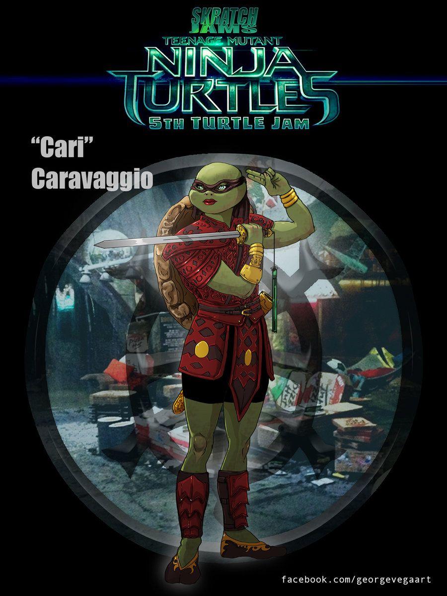 Cari Caravaggio Teenage Mutant Ninja Turtles Art Tmnt Ninja Turtles Art