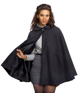 American Apparel Wool Cape